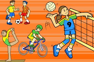 Atividades de fundamentos de Esportes