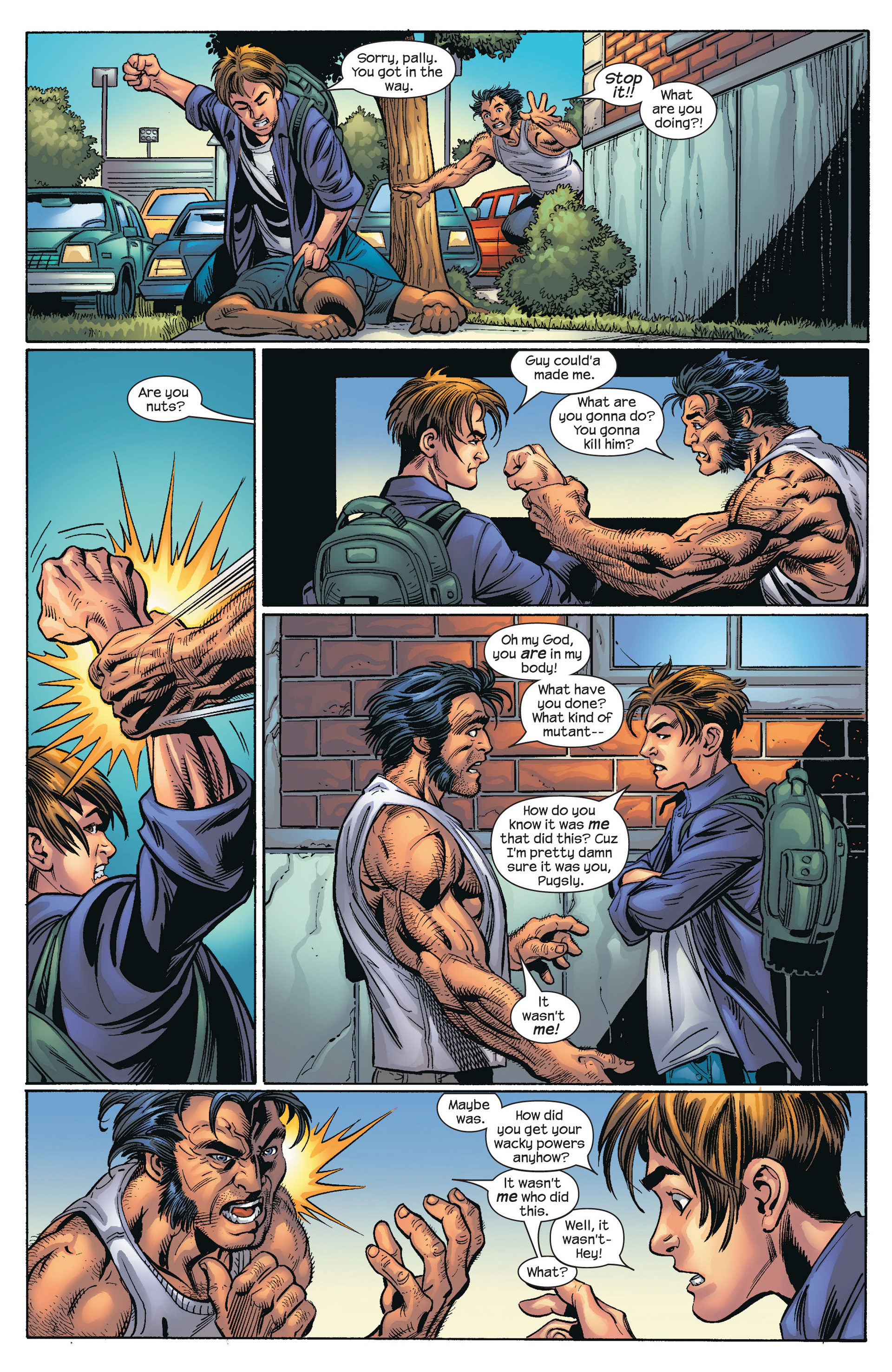 Read online Ultimate Spider-Man (2000) comic -  Issue #66 - 15