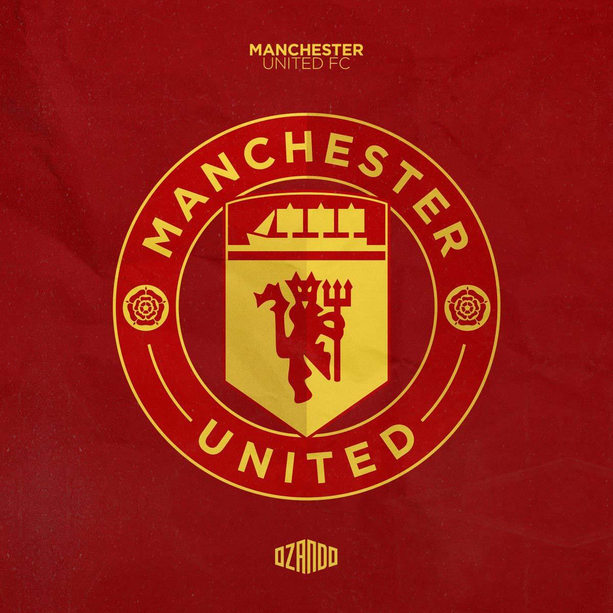 Redesigned Manchester United Logo By Ozando Footy Headlines