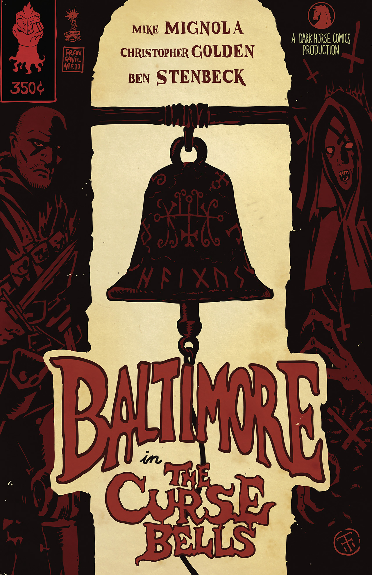 Read online Baltimore: The Curse Bells comic -  Issue #1 - 2