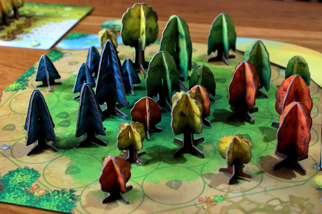 Photosynthesis trees | Random Nerdery board game review