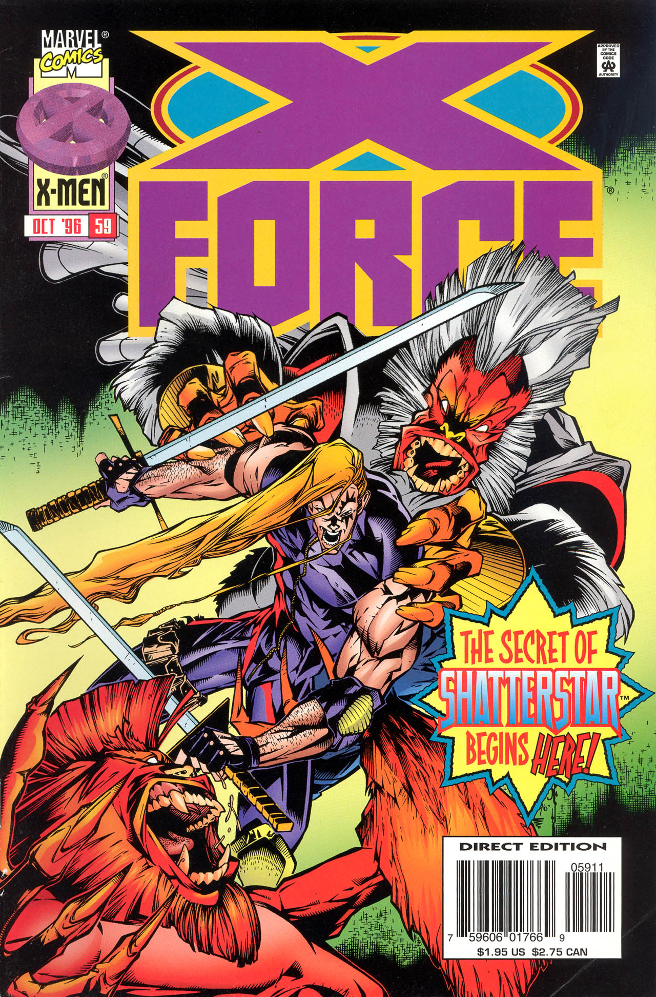 X-Force (1991) 59 Page 1
