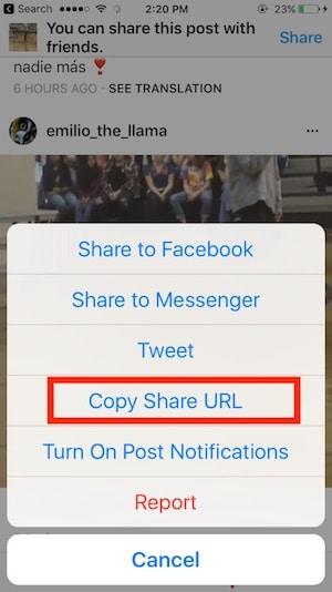scaricare video facebook app iphone