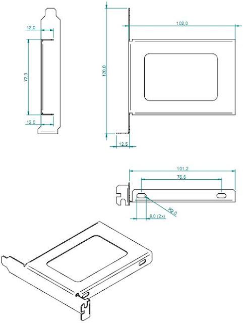 Adaptador de Slot NK039999-C213 para SSD