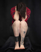 braclet cheville tatouage, tatouage metamose, olivier poinsignon, gus, collaboration