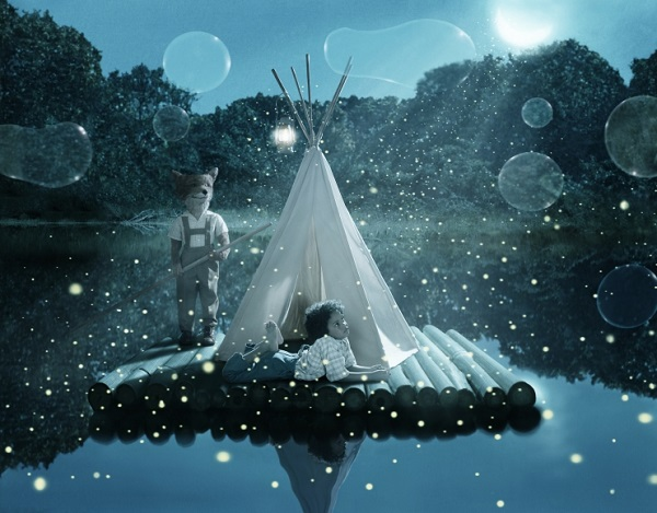 "Helena Blomqvist, ""Moon River"", 2017."