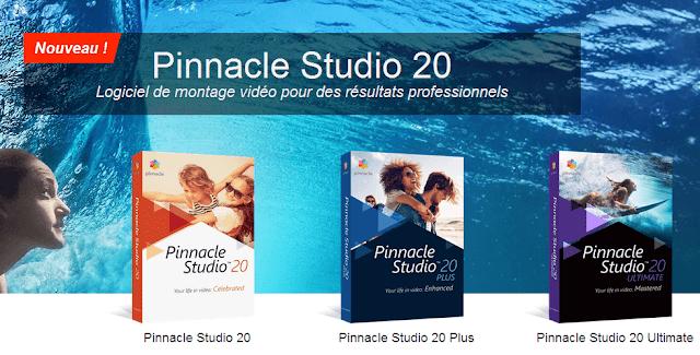 Pinacle Studio montage vidéo