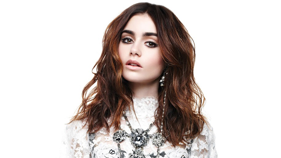 Lily Collins, Beautiful, Photoshoot, 4K, #4.2623