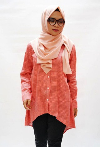 23+ Model Kemaja Muslim Untuk Wanita Muslimah Modern Terbaru 2018