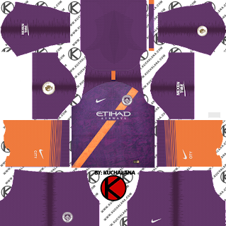 Manchester City 2018/19 Third Kit - Dream League Soccer Kits