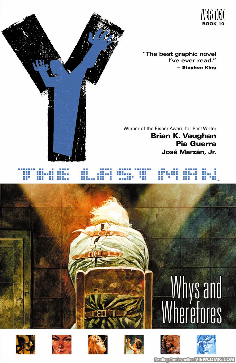 Y – The Last Man vol. 10 – Whys and Wherefores (2008)
