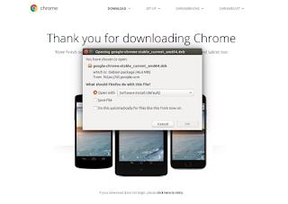 Cara Install Google Chrome Di Ubuntu 16.04 18.04 Atau Linuxmint