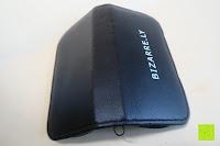 Etui Rücken: BIZARRE.LY 5teiliges Set für Pros - EINFACHES BEHEBEN von eingewachsenen Zehennägel, VORBEUGEN von schmerzenden & wunden Nägeln – FEILE, HEBER, 2 x ZANGEN, PRÄZISIONSPINZETTE – im tragbarem LEDERETUI.