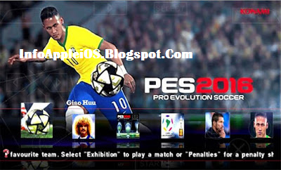 ISO PES 2016 Patch Galaxy11 Fix By Londay