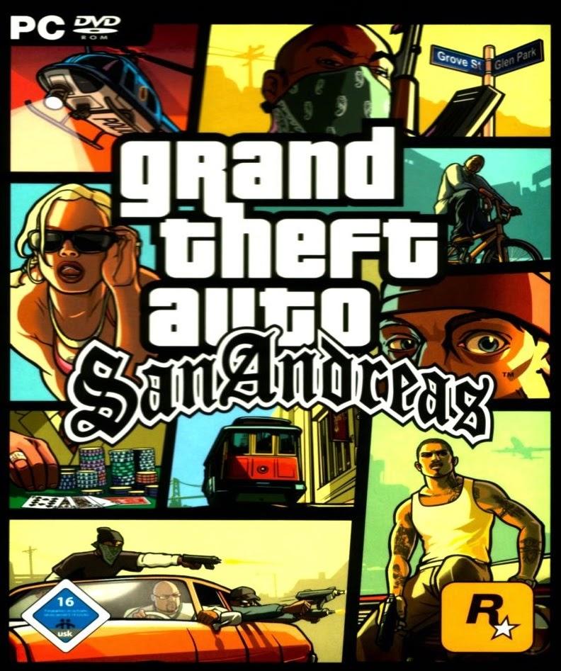 Baixe Games: Download Grand Theft Auto: San Andreas