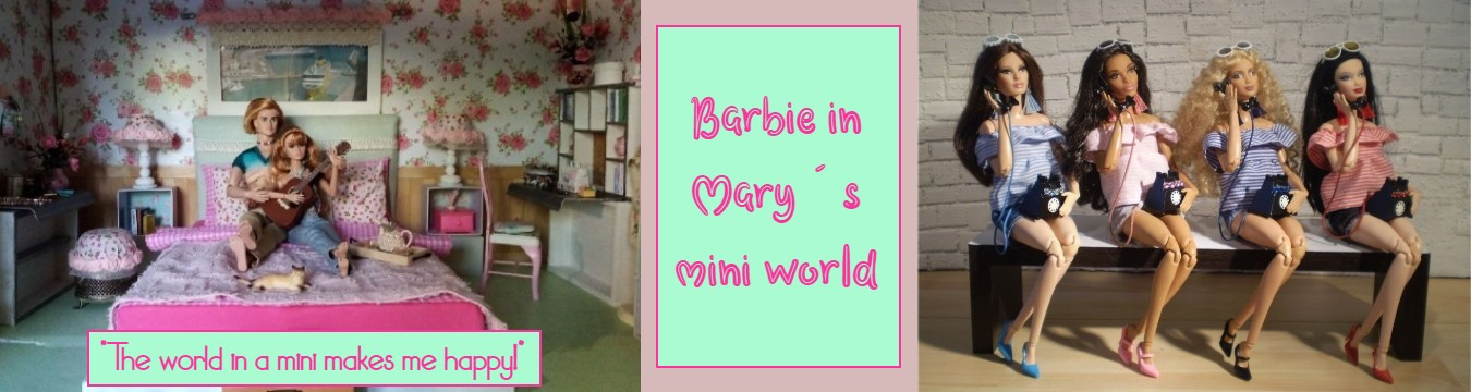 Barbie in Mary´s mini world
