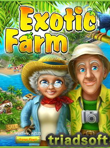 صورة تصف شعار لعبة المزرعة السعيدة