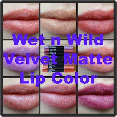 Wet n Wild Velvet Matte Lip Color – Review & Swatches