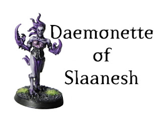 Painting Daemonettes