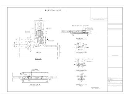 desain irigasi contoh gambar desain bangunan irigasi