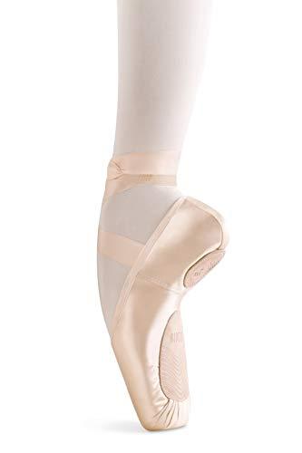One Size Pink Bloch Womens Ballet//Pointe Shoe Double Faced Elastorib