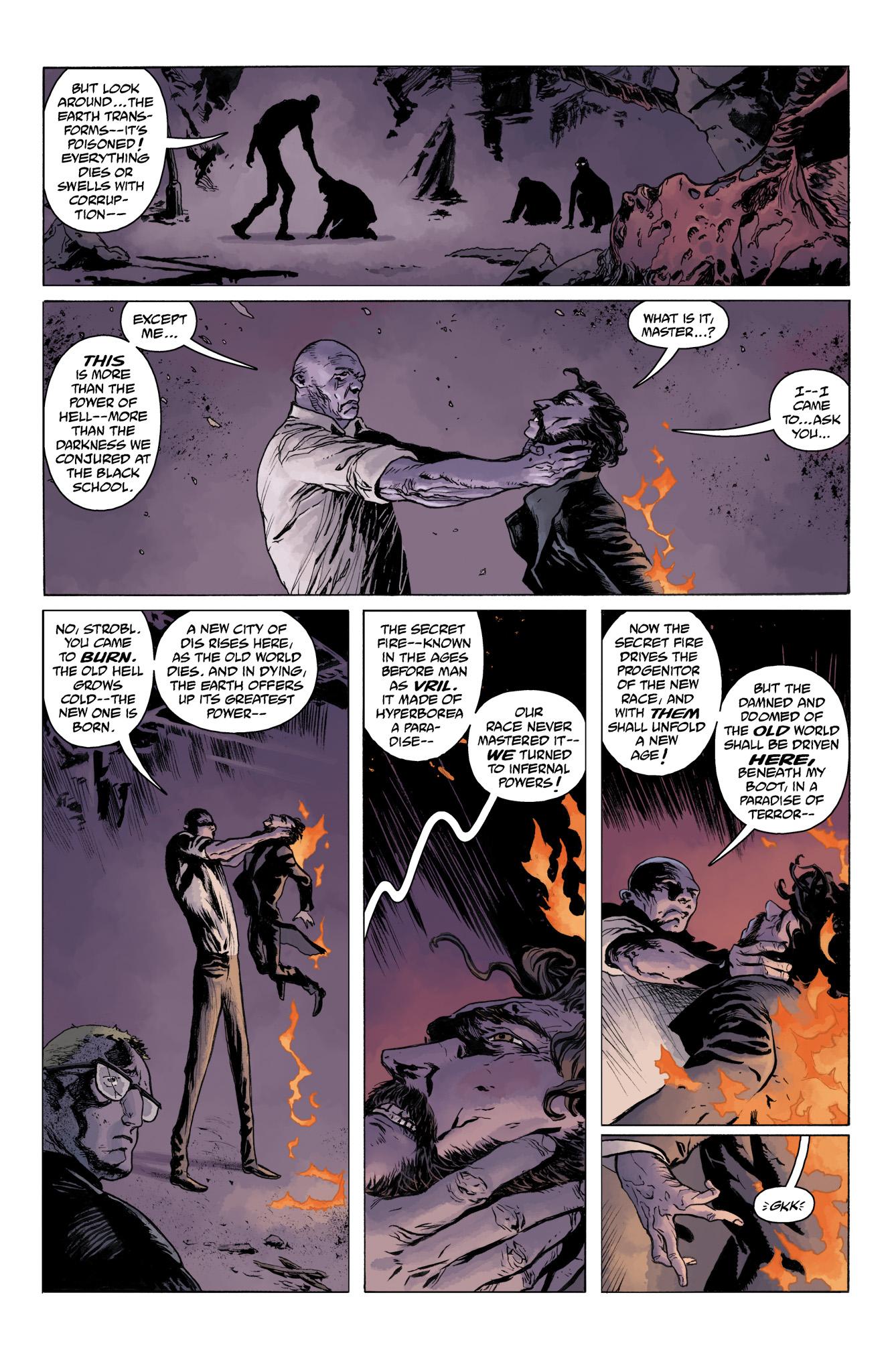 Read online Abe Sapien comic -  Issue #11 - 19