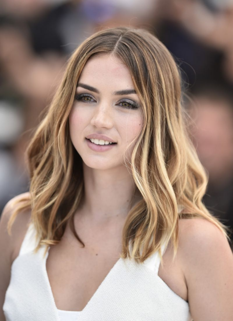 Cuban Actress Ana de Armas at Hands of Stone Photocall at Cannes Film Festival