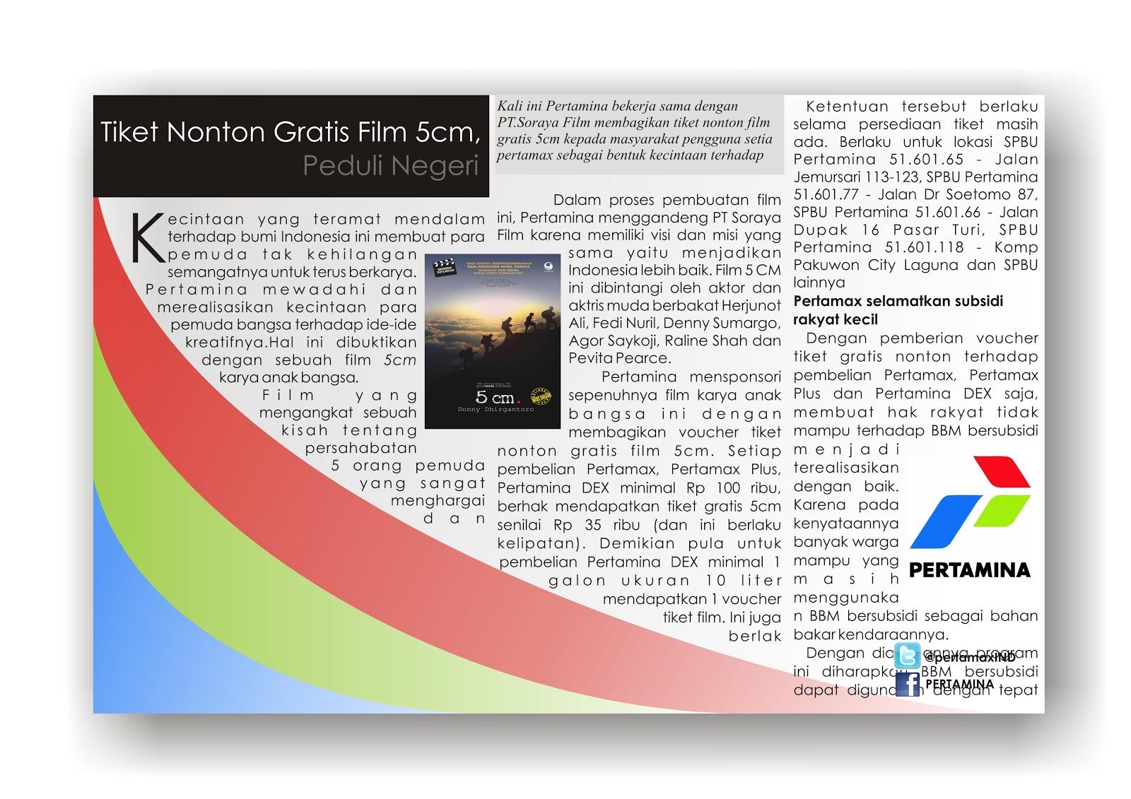 Pengertian dan Contoh Advertorial ~ Rafflesia Ningsih Lestari