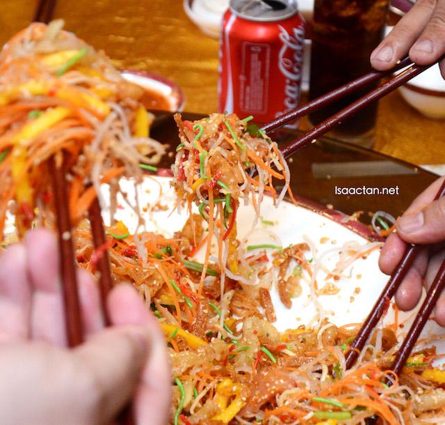 Chinese New Year Feast @ The Emperor, Dorsett Grand Subang