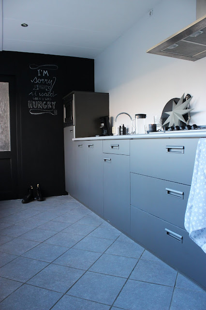 Flexa, Creations, Industrial Grey, Silver Shadow, Schoolbordverf, Akzonobel, DIY, make-over, keuken, huisjeaandehaven, interieurblog, verfklus, verven, Upcycling, klussen