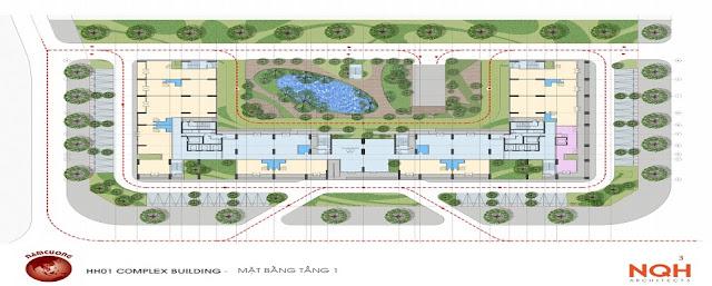 Quy hoạch tổng thể chung cư Anland Nam Cường