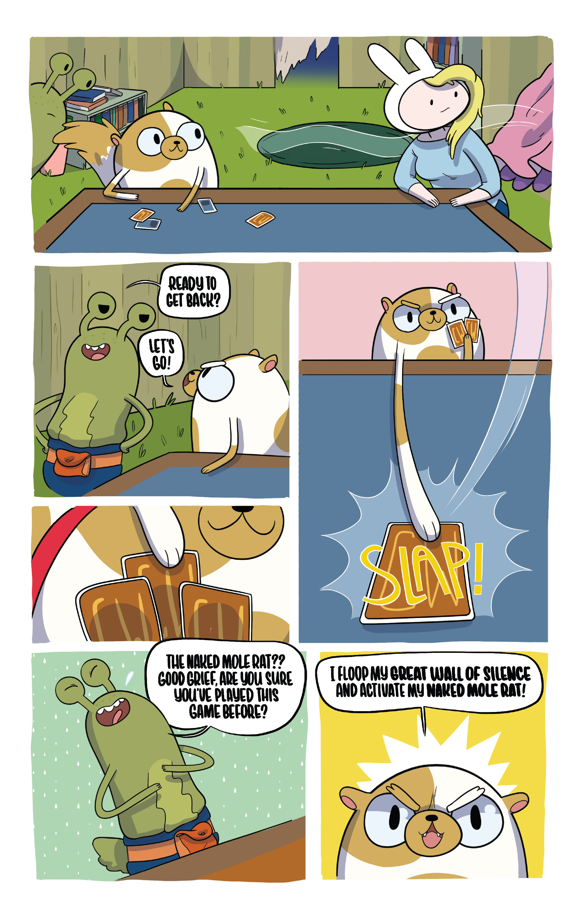 Read online Adventure Time Fionna and Cake Card Wars comic -  Issue #2 - 18