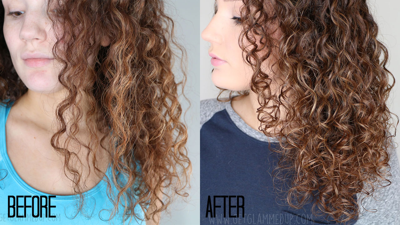 Olaplex Results on Curly Hair