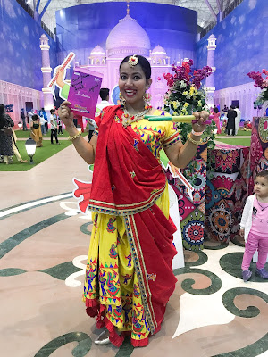 Shopping, Style and Us: India's Best Shopping and Self-Help Blog- Jiya Mishra Saklani (Founder and Editor at SSU wins Best Dressed Dancing Female at Dandiya Nights of OMAXE Connaught Place