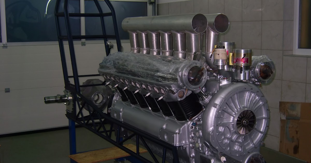 Allison V12 Engine Car