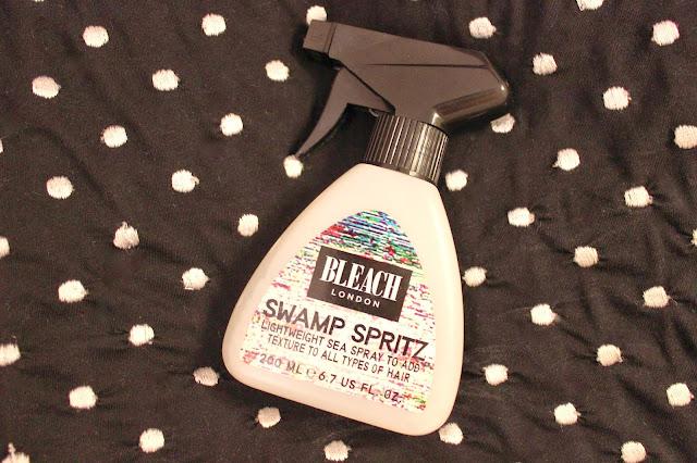 Bleach Swamp Spritz Sea Spray Review Hair London