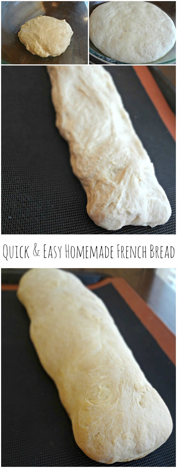 Quick & Easy Homemade French Bread
