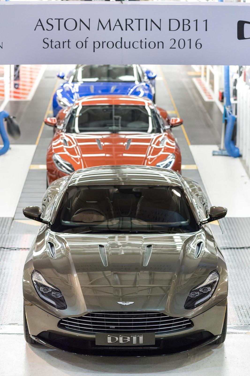 The Motoring World: Aston Martin has officially started customer ...