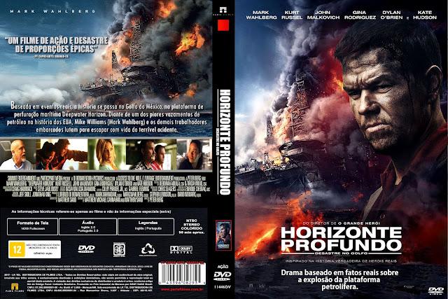 Capa DVD Horizonte Profundo Desastre No Golfo