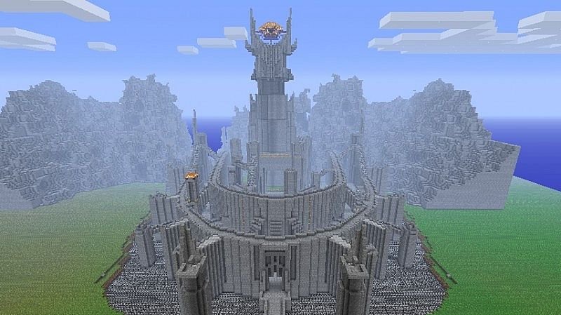 of minas tirith from l...