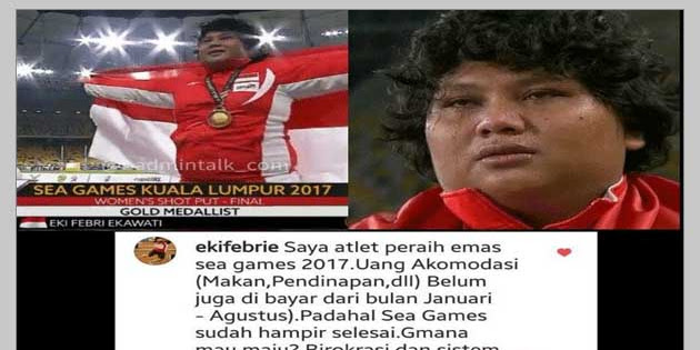 Sedihnya Curhat Peraih Medali Emas SEA Games,Ternyata Tidak Terima Uang Akomodasi Sejak Januari-Agustus