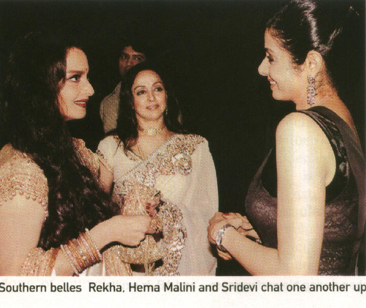 sridevi and rekha relationship