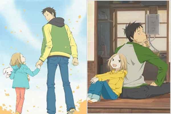 Usagi drop - anime terbaik