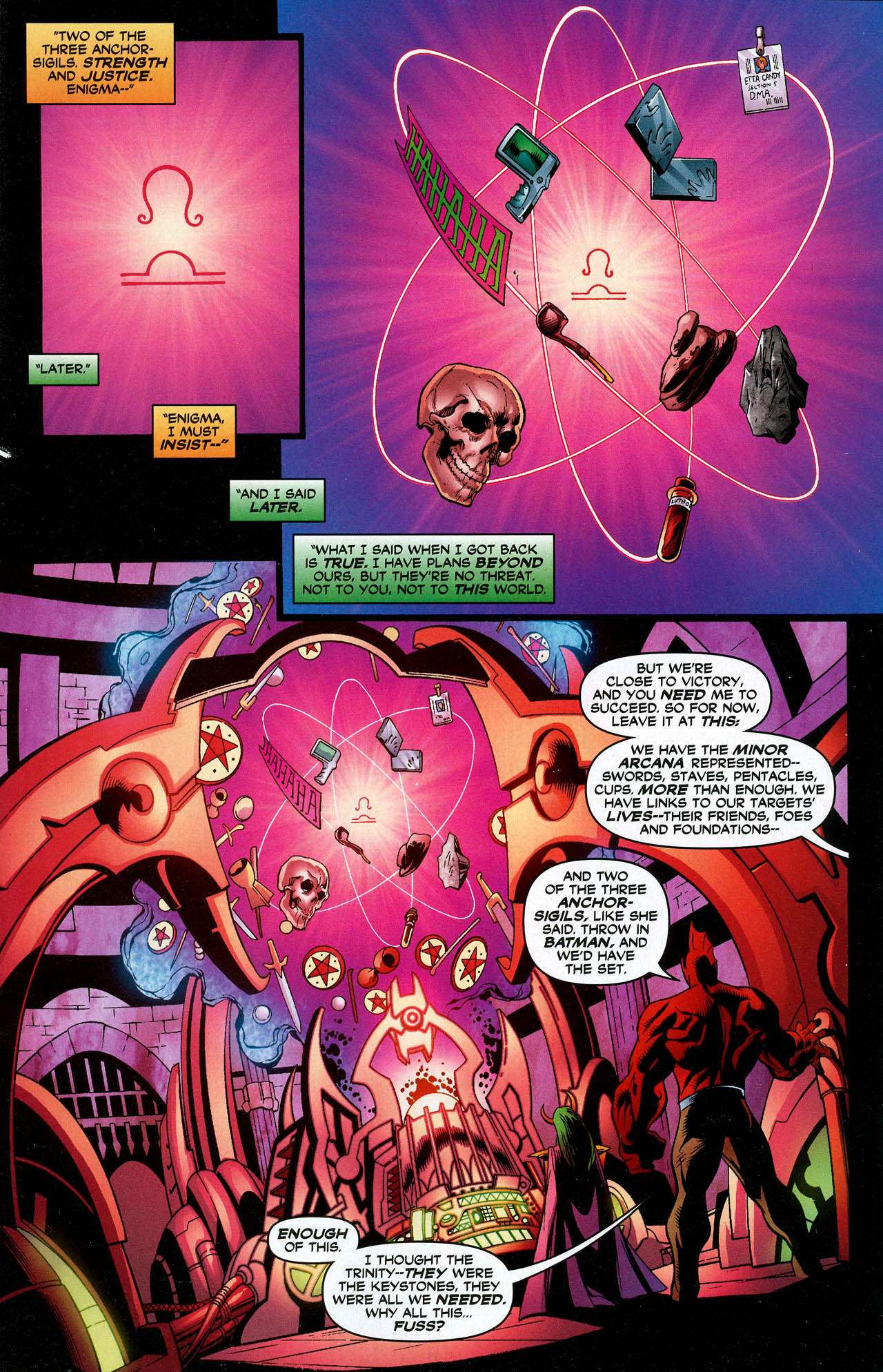 Read online Trinity (2008) comic -  Issue #15 - 3
