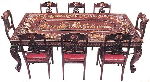 Click Here To Rosewood Inlay Furniture Of Karnataka From Mysore