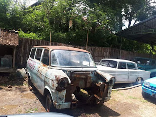 Dijual Bahan Ford Transit The A Team Van 1970