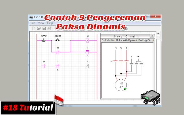 Contoh 9 Pengereman Paksa Dinamis | Tutorial bahasa Indonesia #18