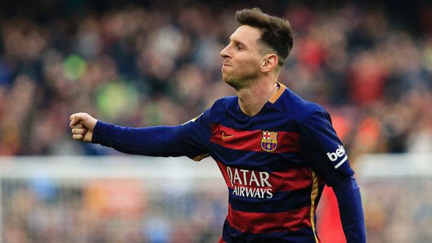 """Messi está a tan sólo cinco goles de Luis Suárez en el """"Pichichi"""""""