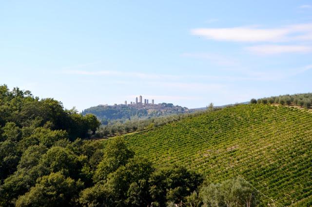 Toskania- miasto wież San Gimignano