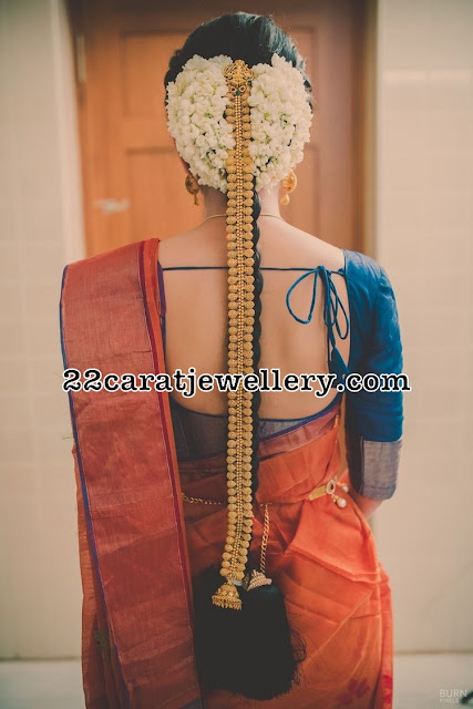 Bride in Latest Antique Gold Jada